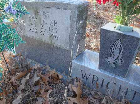 WRIGHT, SR, RAY K - Saline County, Arkansas   RAY K WRIGHT, SR - Arkansas Gravestone Photos