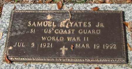 YATES, JR. (VETERAN WWII), SAMUEL R. - Saline County, Arkansas   SAMUEL R. YATES, JR. (VETERAN WWII) - Arkansas Gravestone Photos