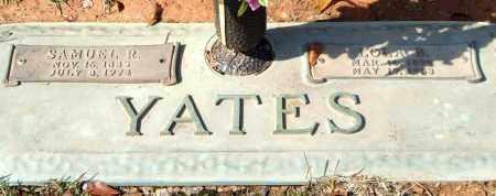 YATES, SAMUEL R. - Saline County, Arkansas | SAMUEL R. YATES - Arkansas Gravestone Photos
