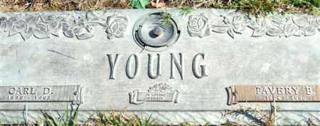 YOUNG, CARL D. - Saline County, Arkansas | CARL D. YOUNG - Arkansas Gravestone Photos