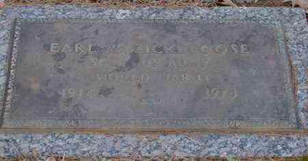 ZICKEFOOSE (VETERAN WWII), EARL W - Saline County, Arkansas   EARL W ZICKEFOOSE (VETERAN WWII) - Arkansas Gravestone Photos