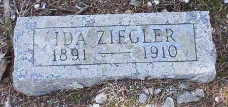 ZIEGLER, IDA - Saline County, Arkansas   IDA ZIEGLER - Arkansas Gravestone Photos