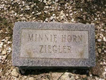 ZIEGLER, MINNIE - Saline County, Arkansas | MINNIE ZIEGLER - Arkansas Gravestone Photos