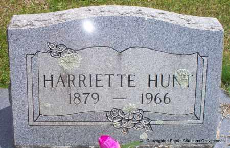 HUNT, HARRIETTE - Scott County, Arkansas | HARRIETTE HUNT - Arkansas Gravestone Photos