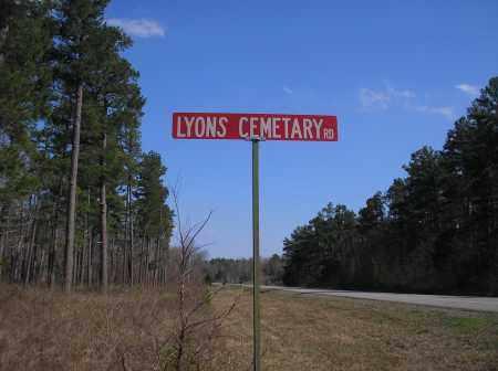*LYONS ROAD MARKER,  - Scott County, Arkansas |  *LYONS ROAD MARKER - Arkansas Gravestone Photos