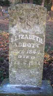 ABBOTT, ELIZABETH - Scott County, Arkansas   ELIZABETH ABBOTT - Arkansas Gravestone Photos