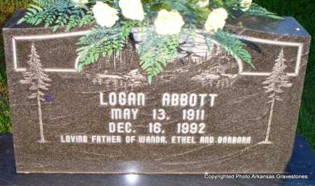 ABBOTT, LOGAN - Scott County, Arkansas | LOGAN ABBOTT - Arkansas Gravestone Photos