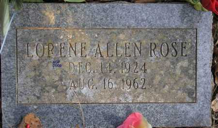 MOORE ALLEN, LORENE - Scott County, Arkansas | LORENE MOORE ALLEN - Arkansas Gravestone Photos