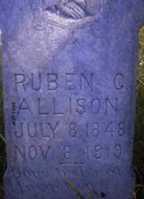 ALLISON, RUBEN C - Scott County, Arkansas   RUBEN C ALLISON - Arkansas Gravestone Photos