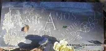 AMOS, ANNIE - Scott County, Arkansas   ANNIE AMOS - Arkansas Gravestone Photos
