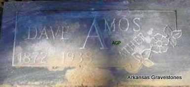 AMOS, DAVE - Scott County, Arkansas | DAVE AMOS - Arkansas Gravestone Photos