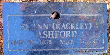 ASHFORD, JO ANN - Scott County, Arkansas   JO ANN ASHFORD - Arkansas Gravestone Photos