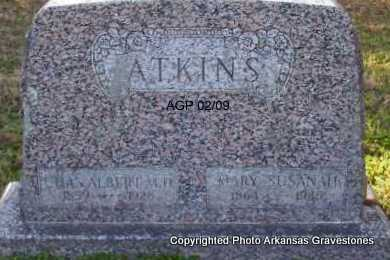 ATKINS, M D, CHAS  ALBERT - Scott County, Arkansas | CHAS  ALBERT ATKINS, M D - Arkansas Gravestone Photos