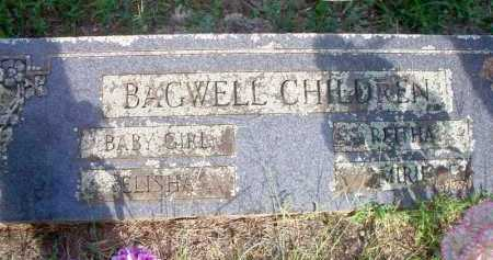 BAGWELL, MIRIE - Scott County, Arkansas | MIRIE BAGWELL - Arkansas Gravestone Photos