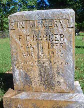 BARKER, F C - Scott County, Arkansas | F C BARKER - Arkansas Gravestone Photos