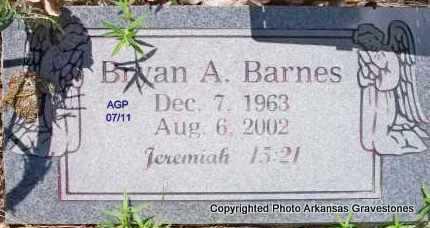 BARNES, BRYAN A - Scott County, Arkansas | BRYAN A BARNES - Arkansas Gravestone Photos