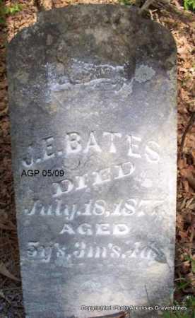 BATES, J E - Scott County, Arkansas | J E BATES - Arkansas Gravestone Photos
