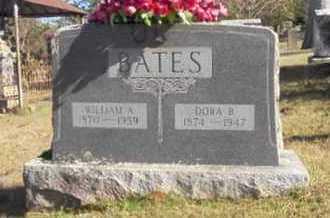 BATES, WILLIAM A - Scott County, Arkansas | WILLIAM A BATES - Arkansas Gravestone Photos