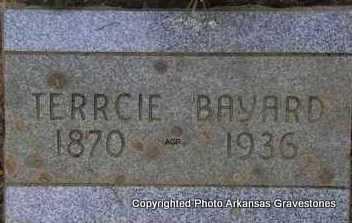 BAYARD, TERRCIE - Scott County, Arkansas | TERRCIE BAYARD - Arkansas Gravestone Photos