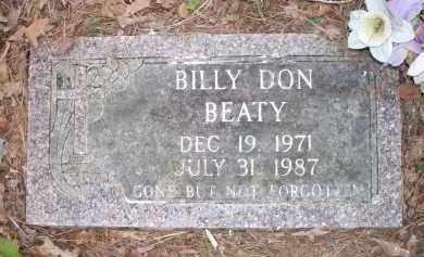 BEATY, BILLY DON - Scott County, Arkansas   BILLY DON BEATY - Arkansas Gravestone Photos