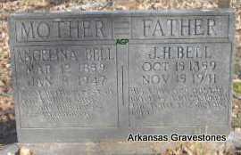 BELL, ANGELINA - Scott County, Arkansas | ANGELINA BELL - Arkansas Gravestone Photos