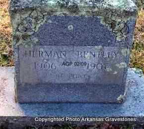 BENTLEY, HERMAN - Scott County, Arkansas | HERMAN BENTLEY - Arkansas Gravestone Photos