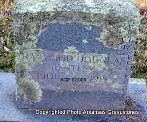 BENTLEY, RAYMOND DOUGLAS - Scott County, Arkansas   RAYMOND DOUGLAS BENTLEY - Arkansas Gravestone Photos