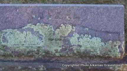 BETHEL, EBEN B - Scott County, Arkansas | EBEN B BETHEL - Arkansas Gravestone Photos
