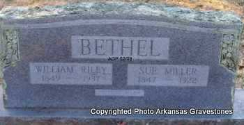 BETHEL, WILLIAM RILEY - Scott County, Arkansas | WILLIAM RILEY BETHEL - Arkansas Gravestone Photos