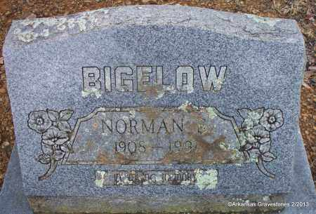 BIGELOW, NORMAN - Scott County, Arkansas | NORMAN BIGELOW - Arkansas Gravestone Photos
