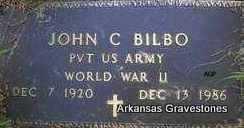 BILBO  (VETERAN WWII), JOHN CHRISTOPHER (JC) - Scott County, Arkansas | JOHN CHRISTOPHER (JC) BILBO  (VETERAN WWII) - Arkansas Gravestone Photos