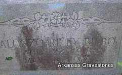 BILBO, ALONZO RILEY - Scott County, Arkansas   ALONZO RILEY BILBO - Arkansas Gravestone Photos