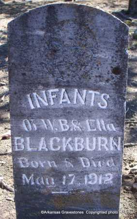 BLACKBURN, INFANTS - Scott County, Arkansas | INFANTS BLACKBURN - Arkansas Gravestone Photos