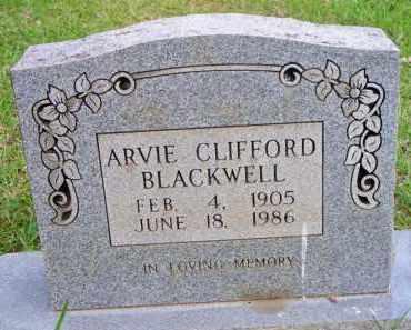 BLACKWELL, ARVIE CLIFFORD - Scott County, Arkansas | ARVIE CLIFFORD BLACKWELL - Arkansas Gravestone Photos
