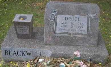 BLACKWELL, DRUCE - Scott County, Arkansas | DRUCE BLACKWELL - Arkansas Gravestone Photos