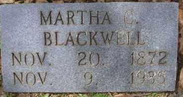 BLACKWELL, MARTHA C - Scott County, Arkansas | MARTHA C BLACKWELL - Arkansas Gravestone Photos