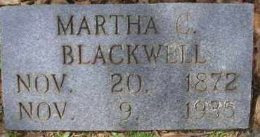 BLACKWELL, MARTHA C - Scott County, Arkansas | MARTHA C BLACKWELL - Arkansas Gravestone Photos