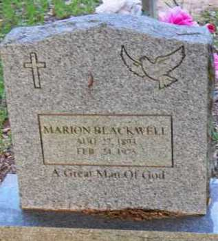 BLACKWELL, MARION - Scott County, Arkansas | MARION BLACKWELL - Arkansas Gravestone Photos