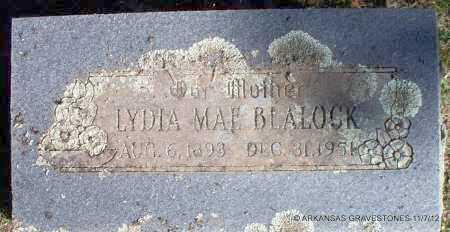 BLALOCK, LYDIA MAE - Scott County, Arkansas | LYDIA MAE BLALOCK - Arkansas Gravestone Photos