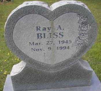 BLISS, RAY A - Scott County, Arkansas | RAY A BLISS - Arkansas Gravestone Photos