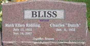 BLISS, RUTH ELLEN - Scott County, Arkansas | RUTH ELLEN BLISS - Arkansas Gravestone Photos