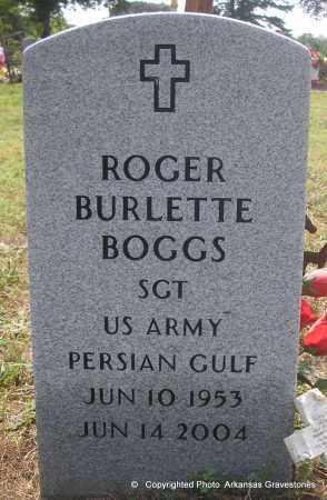 BOGGS (VETERAN PGW), ROGER BURLETTE - Scott County, Arkansas | ROGER BURLETTE BOGGS (VETERAN PGW) - Arkansas Gravestone Photos