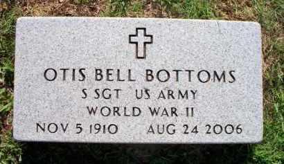 BOTTOMS  (VETERAN WWII), OTIS BELL - Scott County, Arkansas | OTIS BELL BOTTOMS  (VETERAN WWII) - Arkansas Gravestone Photos