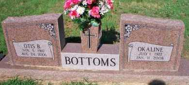 BOTTOMS, OTIS B - Scott County, Arkansas | OTIS B BOTTOMS - Arkansas Gravestone Photos