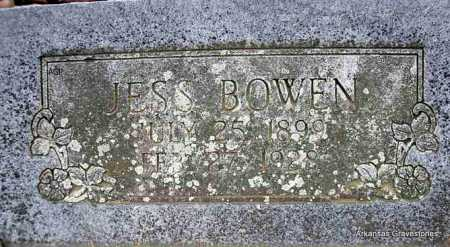 BOWEN, JESS - Scott County, Arkansas | JESS BOWEN - Arkansas Gravestone Photos