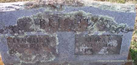 BRIGHT, FRANKLIN K - Scott County, Arkansas   FRANKLIN K BRIGHT - Arkansas Gravestone Photos