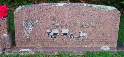 BROOMFIELD, ELMO L - Scott County, Arkansas   ELMO L BROOMFIELD - Arkansas Gravestone Photos
