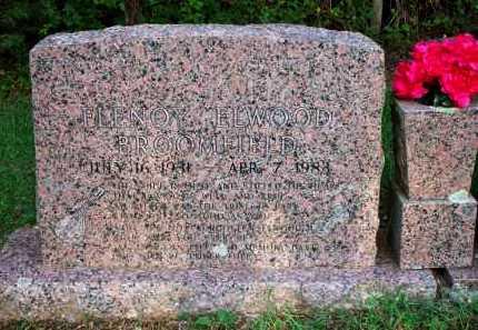 BROOMFIELD, FLENOY ELWOOD - Scott County, Arkansas | FLENOY ELWOOD BROOMFIELD - Arkansas Gravestone Photos
