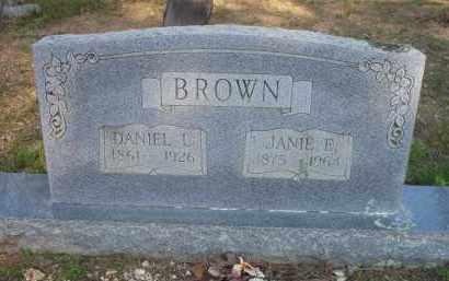 BROWN, DANIEL L - Scott County, Arkansas | DANIEL L BROWN - Arkansas Gravestone Photos