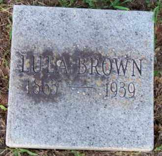 BROWN, LULA - Scott County, Arkansas | LULA BROWN - Arkansas Gravestone Photos